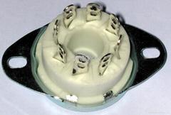 GZC8-1-A(GZC8-1-A-G)型瓷质新八脚管座