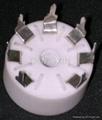 GZC7-Y-B型瓷质七脚管座