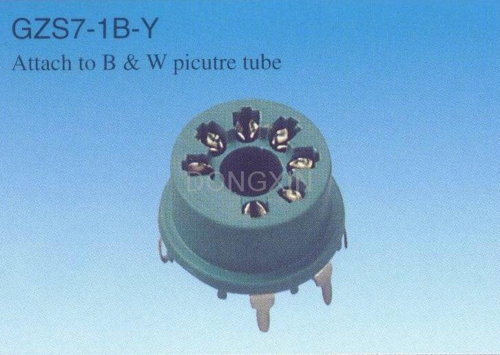 GZS7-1B-Y 7-pin plastic socket