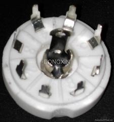 GZC8-8-Y(GZC8-8-Y-G)型瓷質八腳管座