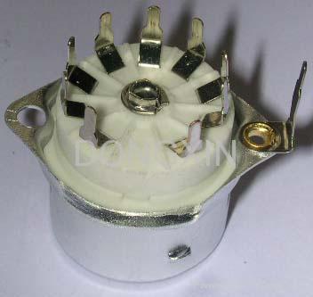 GZC9-F-Y2型瓷质内罩九脚管座 1