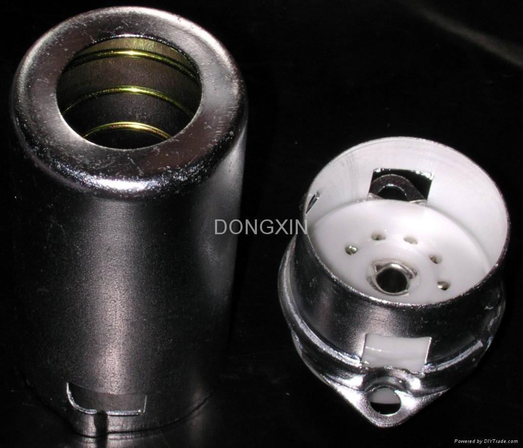 GZC9-F-A-55 9-pin ceramic socket with shield