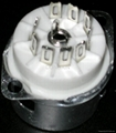GZC9-F-A(GZC9-F-A-G) 9-pin ceramic socket with shield base