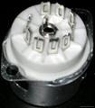 GZC9-F-A(GZC9-F-A-G)型瓷質內罩九腳管座