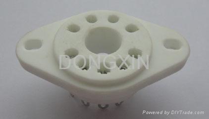 GZC9-P(GZC9-P-G) 9-pin ceramic socket
