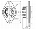 GZC9-P(GZC9-P-G) 9脚陶瓷管座 3