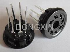S8WPL(S8WPL-G) 8脚胶木管座