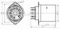 GZS9-F2-D(GZS9-F2-D-G) 九脚塑料管座