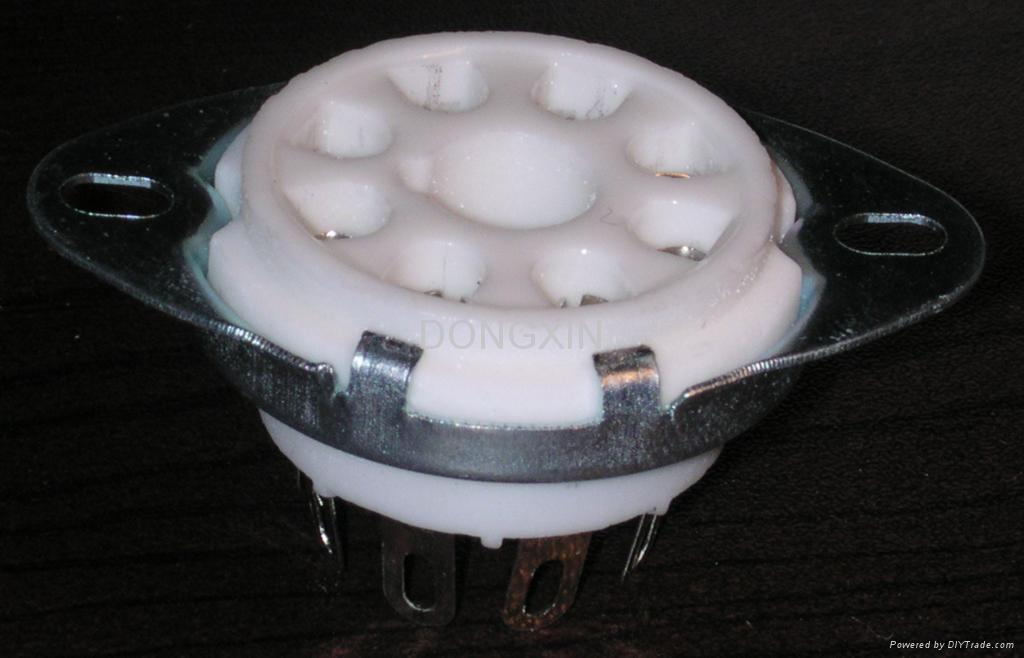 GZC8-Y-D(GC8-Y-D-G) 8-pin ceramic socket