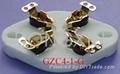 GZC4-1(GZC4-1-G)型瓷質平板四腳管座