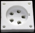 TUS-P5(TUS-P5-G) 5-pin ceramic socket
