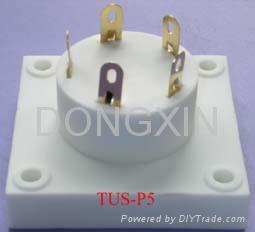 TUS-P5(TUS-P5-G)型瓷质五脚管座 3