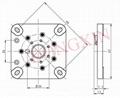 GZC7-C(GZC7-C-G)型瓷质方板七脚管座 4