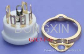 GZC7-F(GZC7-F-G)型瓷质七脚管座 3