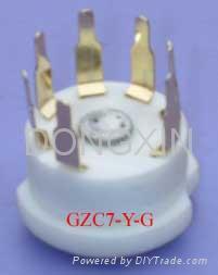 GZC7-Y(GZC7-Y-G)型瓷质七脚管座 3