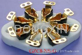 GZC8-NS(GZC8-NS-G)型瓷质平板八脚管座 3