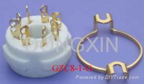 GZC8-1(GZC8-1-G)型瓷质八脚管座 3