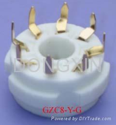 GZC8-Y(GZC8-Y-G)型瓷质改型八脚管座 3