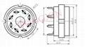 GZC8-Y(GZC8-Y-G)型瓷质改型八脚管座 4