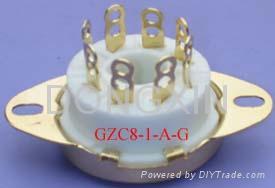 GZC8-1-A(GZC8-1-A-G)型瓷质新八脚管座 3