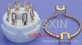 GZC8-Y-1(GZC8-Y-1-G)  8-pin ceramic socket