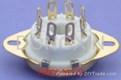 GZC8-Y-3(GZC8-Y-3-G)型瓷质八脚管座 3