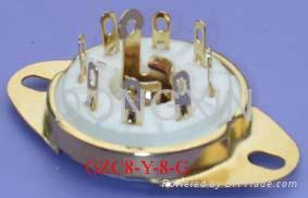 GZC8-Y-8(GZC8-Y-8-G)型瓷质八脚管座 3
