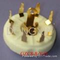 GZC8-8-Y(GZC8-8-Y-G)型瓷质八脚管座 3