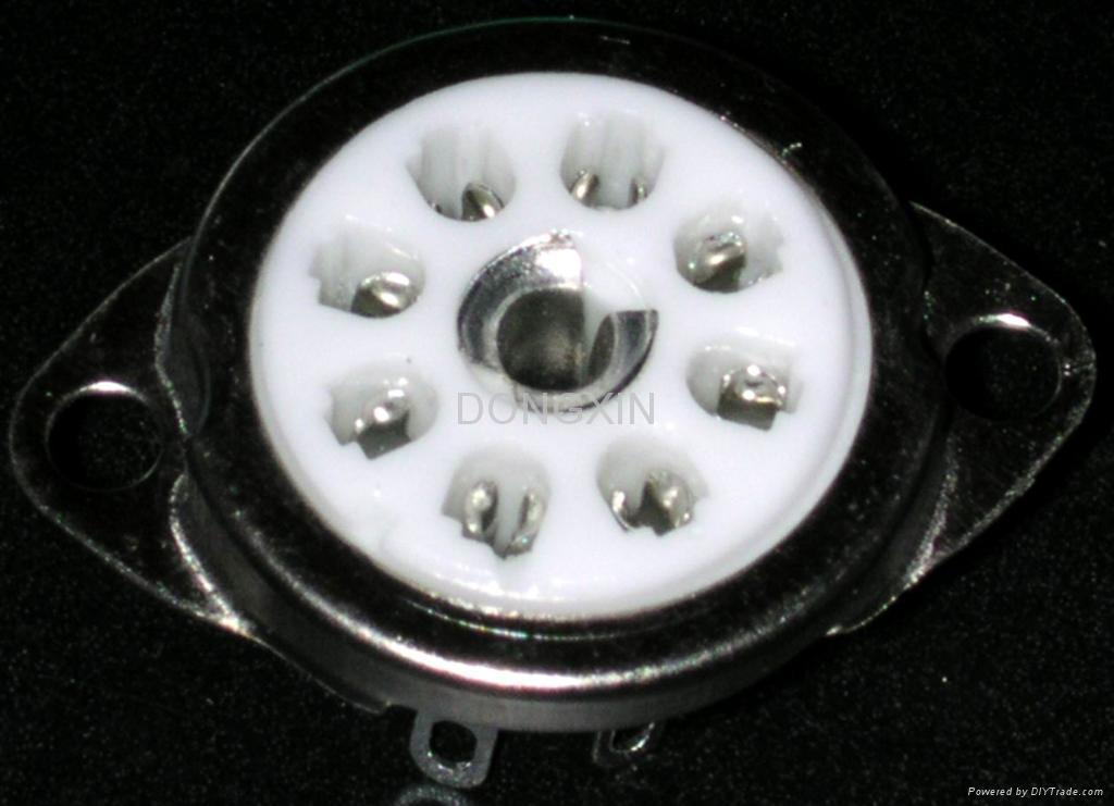 GZC8-Y-9(GZC8-Y-9-G)型瓷质八脚管座 2