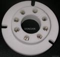 FU50R(FU50R-G) 8-pin ceramic socket