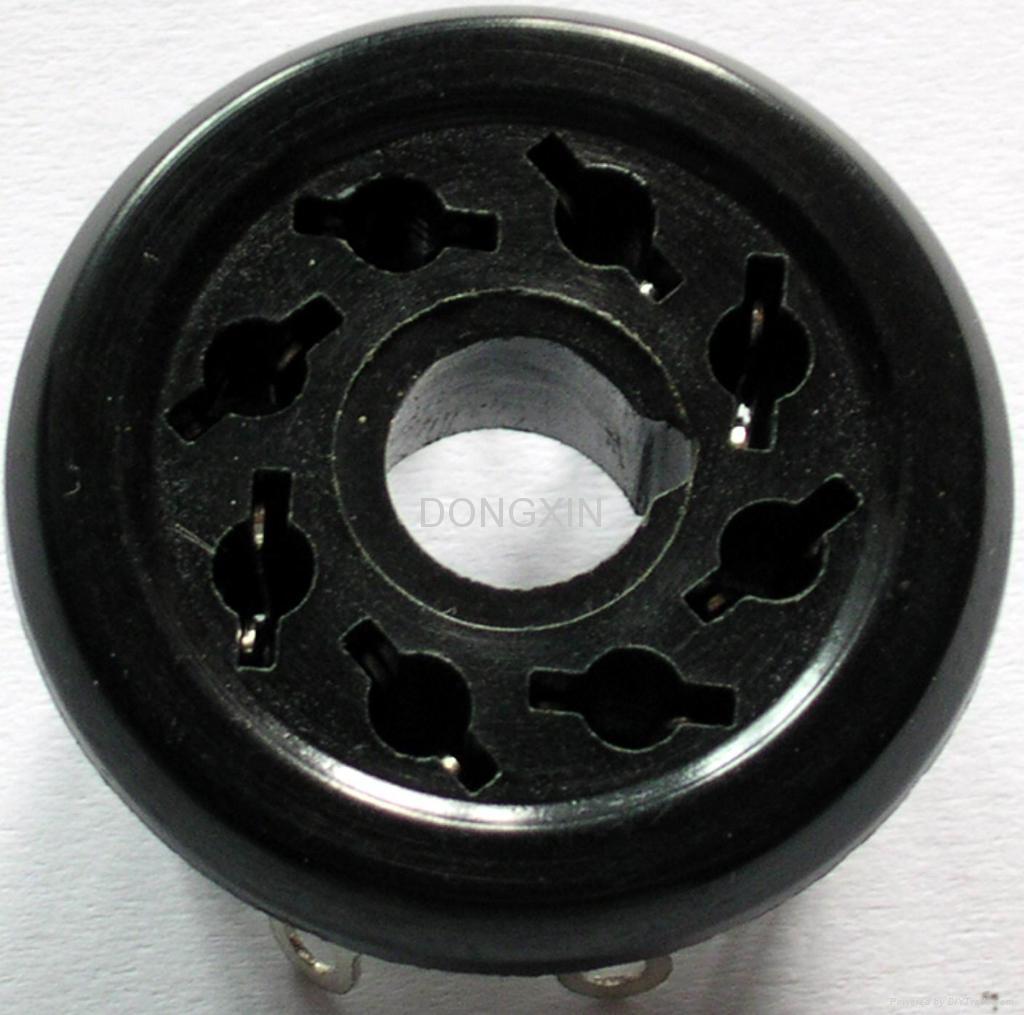 S8WPI(S8WPI-G)型胶木八脚管座 2