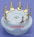 GZC9-B(GZC9-B-G) 9-pin ceramic socket