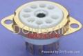 GZC9-C-1(GZC9-C-1-G)型瓷质小九脚管座 3
