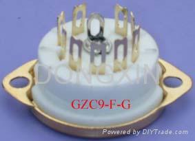 GZC9-F(GZC9-F-G)型瓷质九脚管座 3