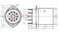 GZC9-F-Y型瓷质内罩九脚管座 3