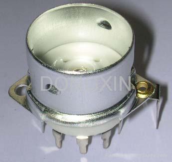 GZC9-F-Y2型瓷质内罩九脚管座 2