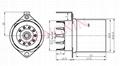 GZC9-F-Y2型瓷质内罩九脚管座 3