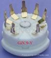 GZC9-Y(GZC9-Y-G) 9-pin ceramic socket