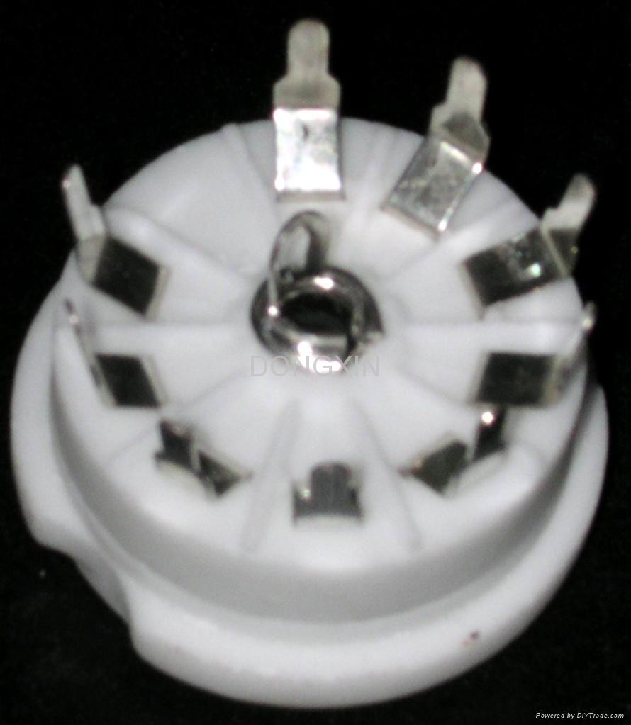 GZC9-Y1(GZC9-Y1-G) 9-pin ceramic socket