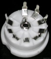 GZC9-Y1(GZC9-Y1-G)型瓷质九脚管座