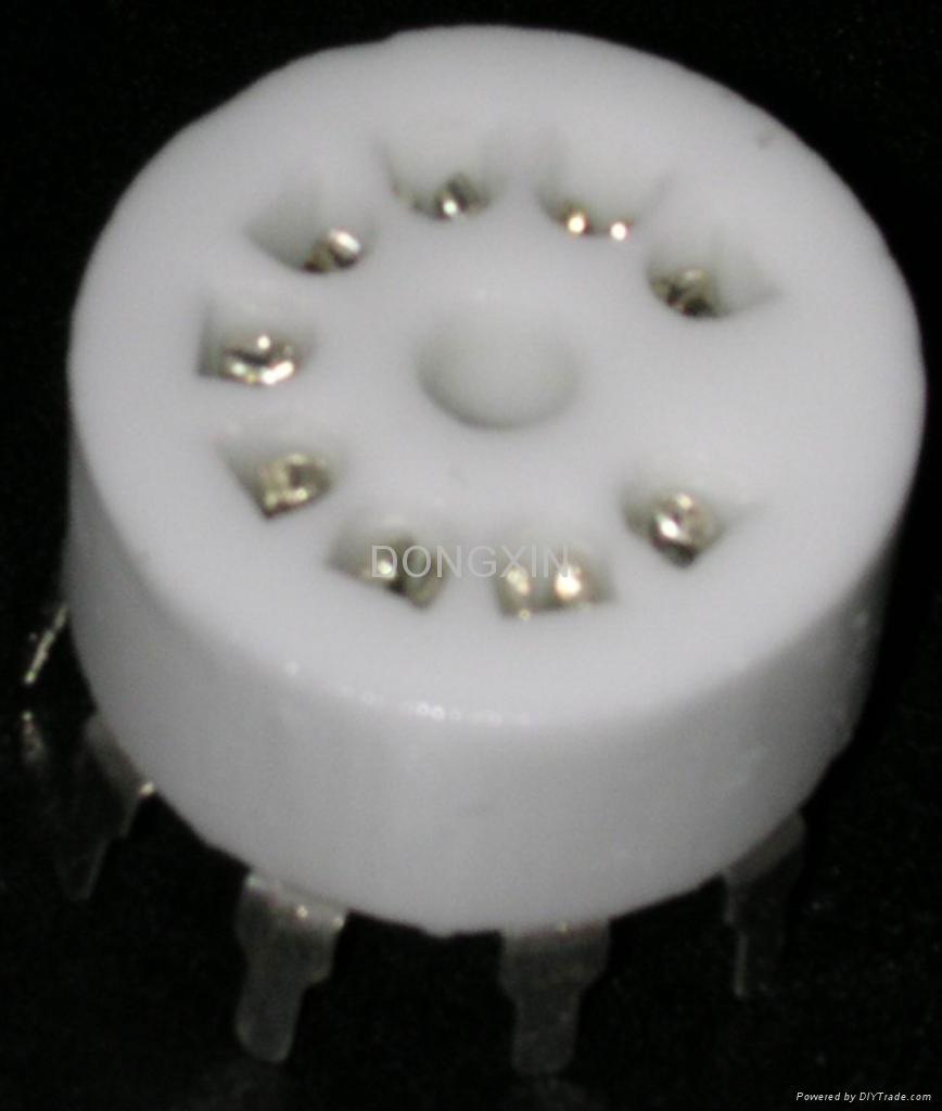 GZC9-Y-3(GZC9-Y-3-G)型瓷质九脚管座 2
