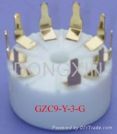 GZC9-Y-3(GZC9-Y-3-G)型瓷质九脚管座 3