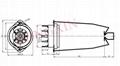 GZC9-Y-14型瓷质九脚管座 3