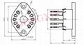 TUS-Y10(TUS-Y10-G) 10-pin bakelite socket