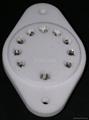 GZC10-B(GZC10-B-G) 10-pin ceramic socket