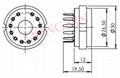 GZC12-Y型瓷质十二脚管座 3