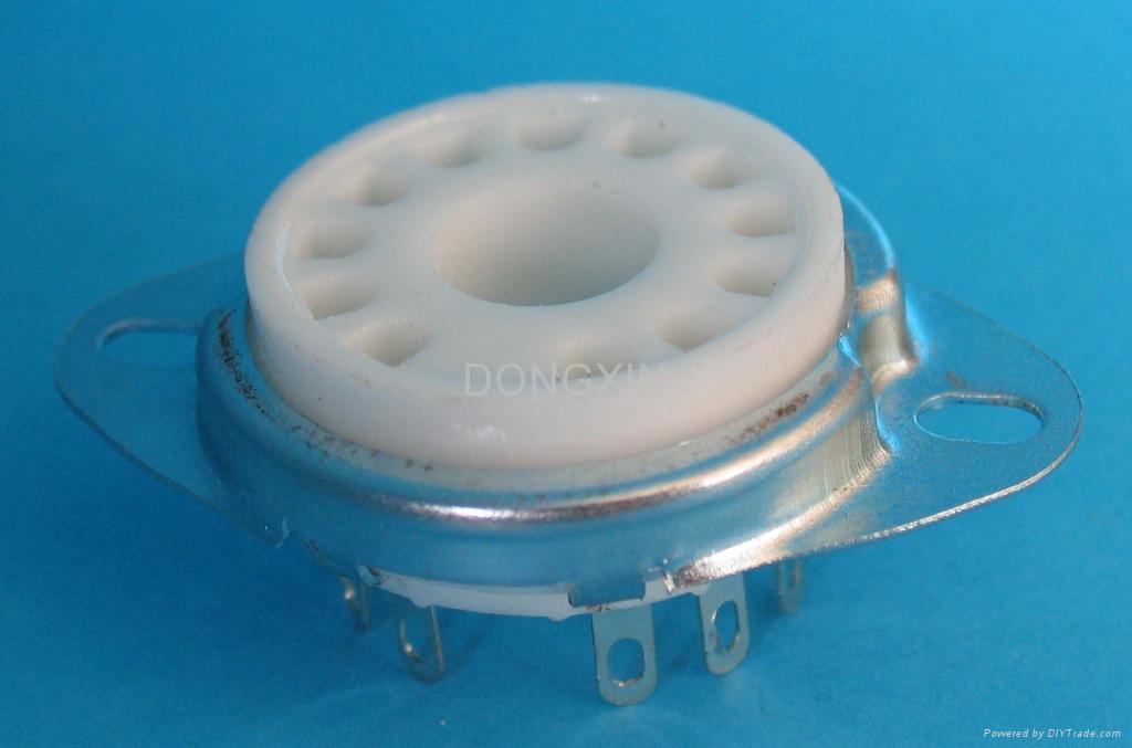 GZC12-F-A 12-pin ceramic socket