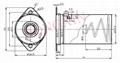 Aluminum shield for 9-pin tube