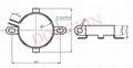 电容固定架 2