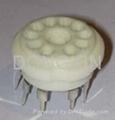 GZC10-C-Y(GZC10-C-Y-G) 10脚瓷质管座 2